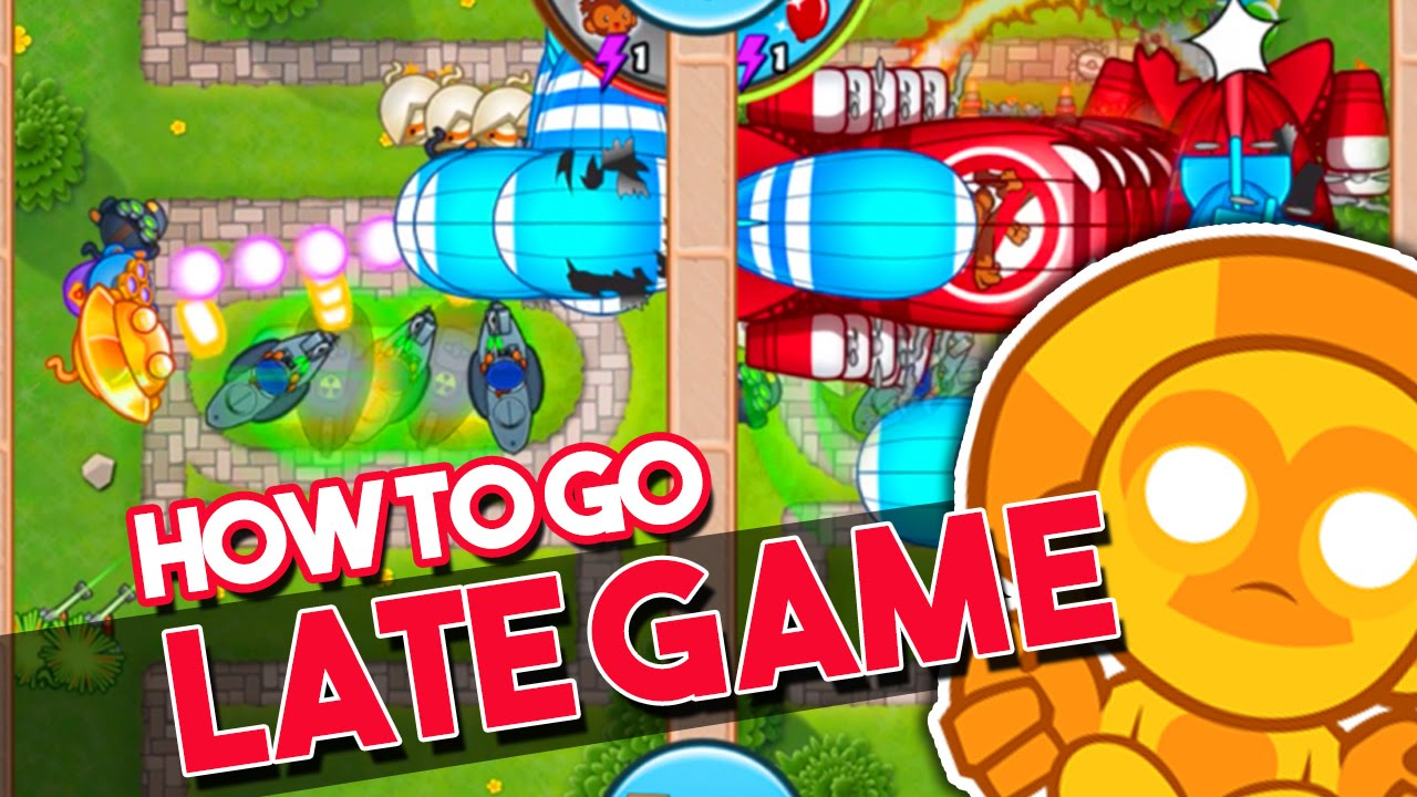 Bloons TD Battles | HOW TO GO LATE GAME | LATE GAME IN BTD ...