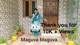 Gambar cover Maguva maguva - classical version   Vakeel Saab   Kuchipudi Dance   PSPK   Sid Sriram   Thaman S