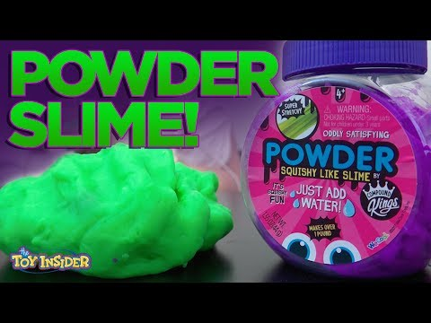 Powder Squishy Like Slime from Compound Kings!!! | A Toy Insider Play by Play