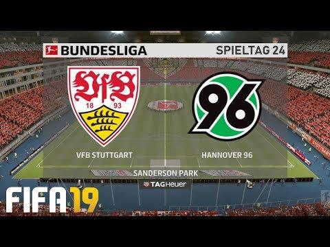 ⚽ FIFA 19 Bundesliga VfB Stuttgart : Hannover 96 🏆 Gameplay Deutsch Livestream
