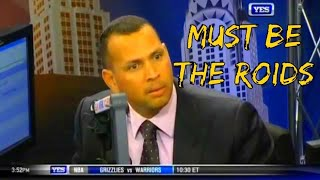 A-Rod getting Pissed Off