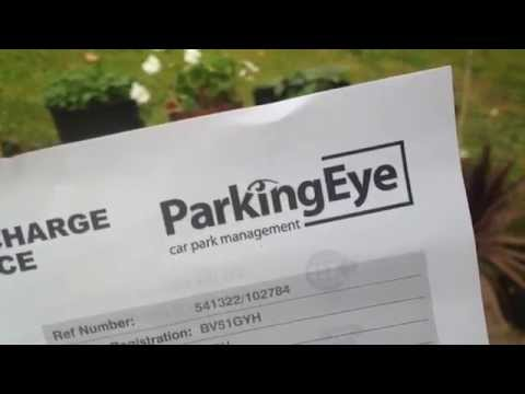 Parking Eye First Letter - What to do!