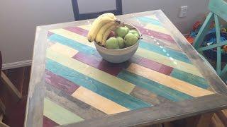DIY Dave - I Built  A dining table