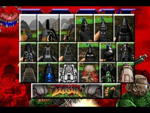 Brutal Doom V21 Beta (PC) - All Weapons Demonstration