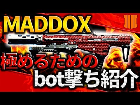 【CoD Bo4】Maddoxでのおすすめbot撃ち練習方法!【Nami】