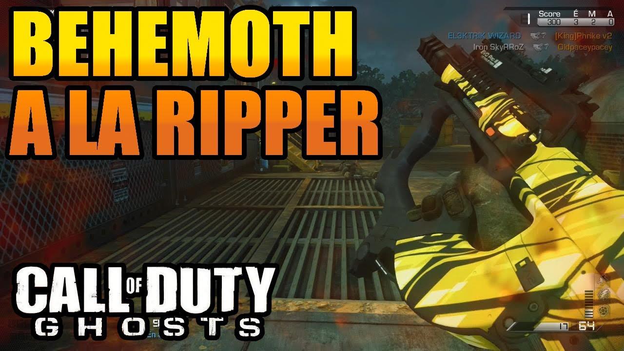 COD GHOSTS : Map BEHEMOTH a la RIPPER   Devastation DLC ... Cod Ghost Devastation Ripper