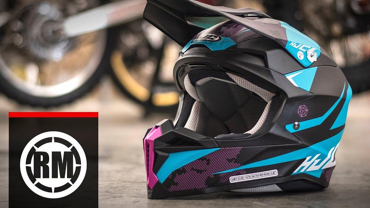 HJC I 50 Fury MX Motocross Offroad Helmet
