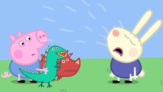 Peppa Pig Full Episodes George and Richard Rabbit 84