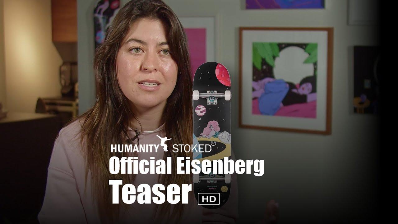 Artist Robin Eisenberg in Activism Teaser for Humanity Stoked