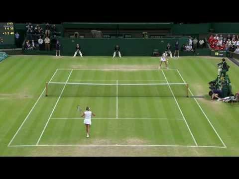 2013 Day 8 Highlights: Petra Kvitova v Kirsten Flipkens