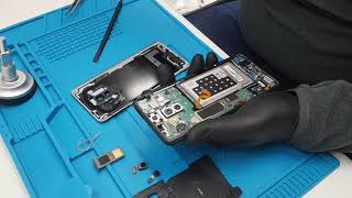 Samsung Galaxy S9+ G965F teardown disassembly World's First