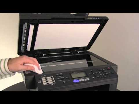 Clear black vertical lines on copies, faxes or scans   MFC8710DW, MFC8810DW, MFC8910DW