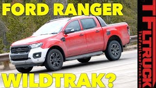 Ford Ranger Wildtrak Off-Road Prototype Spied Testing in the Wild