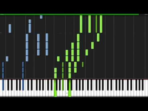 Piano Tutorial Main Theme   Fairy Tail  Synthesia    Kyle Landry Midi + partitura+Music xml  .