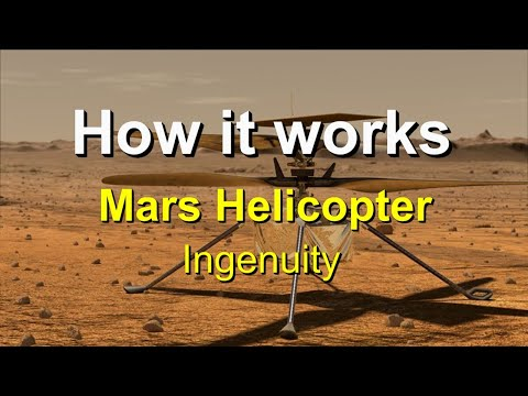 How It Works - The Ingenuity Helicopter - Narrated documentary.