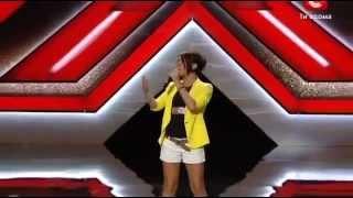X Фактор 3 Юлия Плаксина - Euphoria Loreen