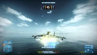 Battlefield 3: SU-35 Flanker PC Multiplayer Gameplay on Wake Island (HD)
