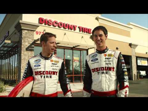 "Brad Keselowski & Joey Logano - ""Not Actors"" 