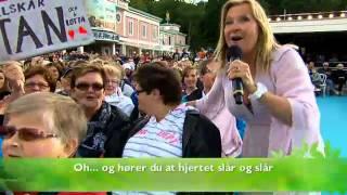 Elisabeth Andreassen - La de swinge (Live @ Lotta pa Liseberg 2012)