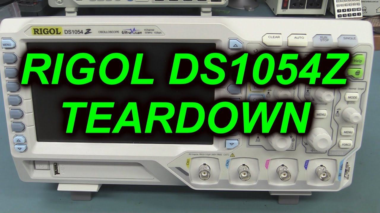 30 SPI Decode on the Rigol DS1054Z - YouTube