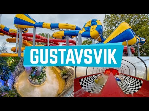 Awesome Water Slides at Lost City (Gustavsvik) Onride