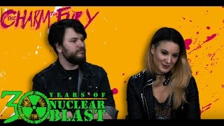 THE CHARM THE FURY – Caroline + Mathijs On Post Tour Rituals (OFFICIAL INTERVIEW)