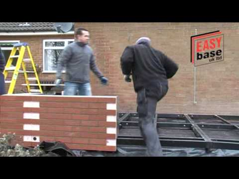 DIY Conservatories. Built in just 1 day! By Easebase Home