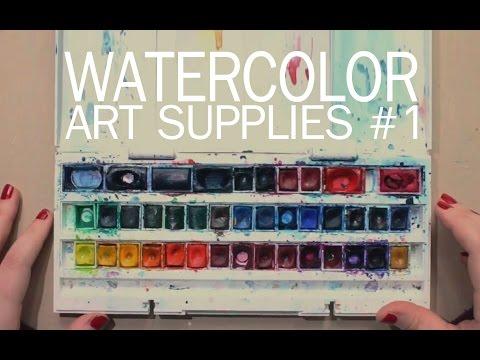 WATERCOLORS [Art Supplies #1]