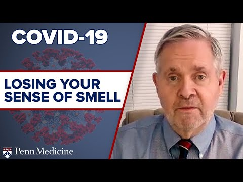 COVID-19: Losing Your Sense of Smell featuring Richard Doty, PhD
