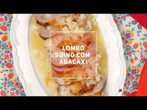 Lombo Suíno com Abacaxi - Divino Minuto - Receitas Divinas
