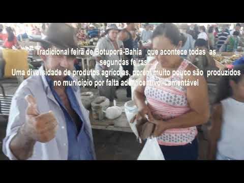 Tradicional feira de Botuporã-Bahia   que acontece todas  as segundas feiras...