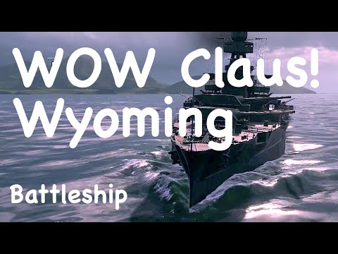 WOWs - Wyoming US Tier 4 Battleship | World of Warships