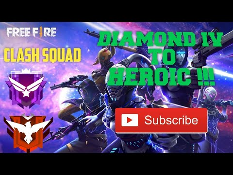 Download Clash Squad Push Rank -Diamond IV to Heroic  @SubZero Gaming