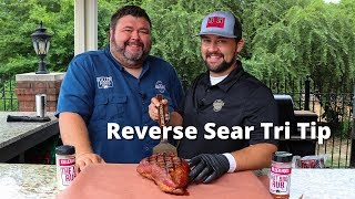 Reverse Seared Tri Tip   Beef Tri Tip Recipe Smoked on Traeger and Grilled on PK 360