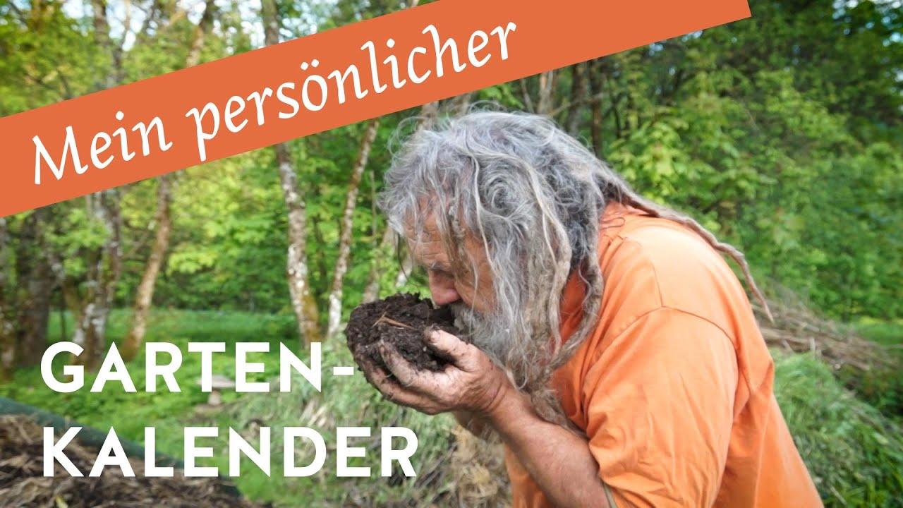 Mein persönlicher Gartenkalender 2021
