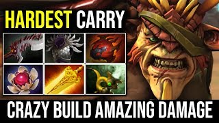 HARDEST CARRY - WTF Bristleback Carry Build Amazing Damage 25KIlls by Funn1k   Dota 2 Highlights