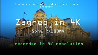 Zagreb in 4K with Sony RX100M4