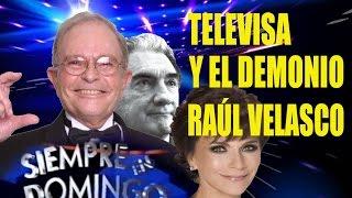 Raúl Velasco pisoteaba a los Famosos de Televisa