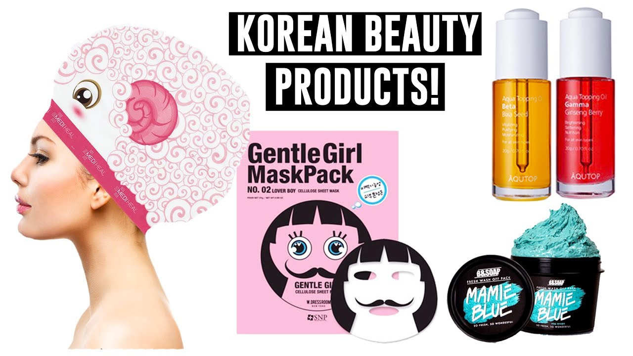 Interesting Beauty Products I Found in Korea!