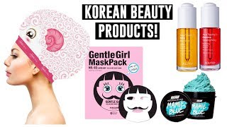 Korean Beauty Products You