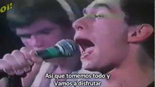 Sham 69 - If The Kids Are United - Subtitulada (HD)