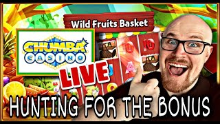 постер к видео CHUMBA CASINO LIVE | WILD FRUITS BASKET | BONUS HUNT  | ONLINE SLOTS | WIN REAL MONEY