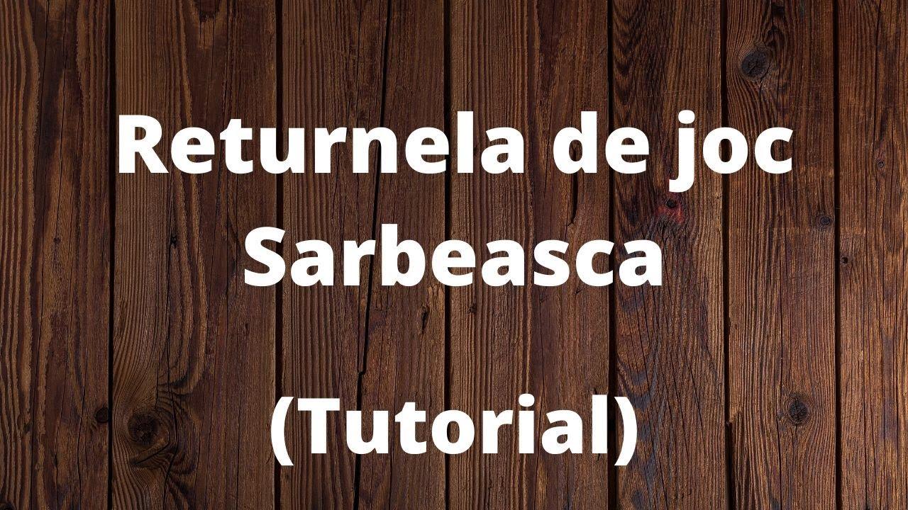 Benny Sarbu - Returnela de joc sarbeasca tutorial