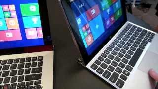 Lenovo Miix 2 10 and 11 First Look at CES 2014