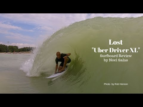 """Lost """"Uber Driver XL"""" Surfboard Review by Noel Salas Ep.87"""