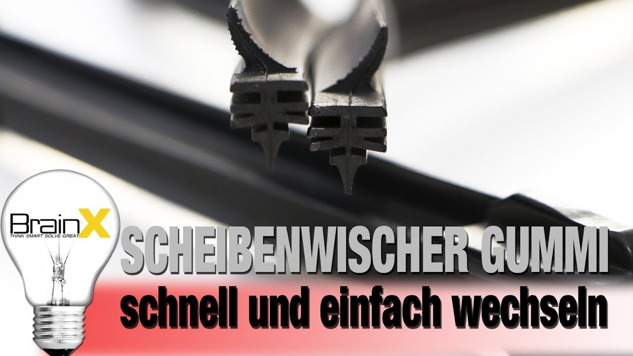 scheibenwischer gummi wechseln swf bosch aerotwin in 5min youtube. Black Bedroom Furniture Sets. Home Design Ideas
