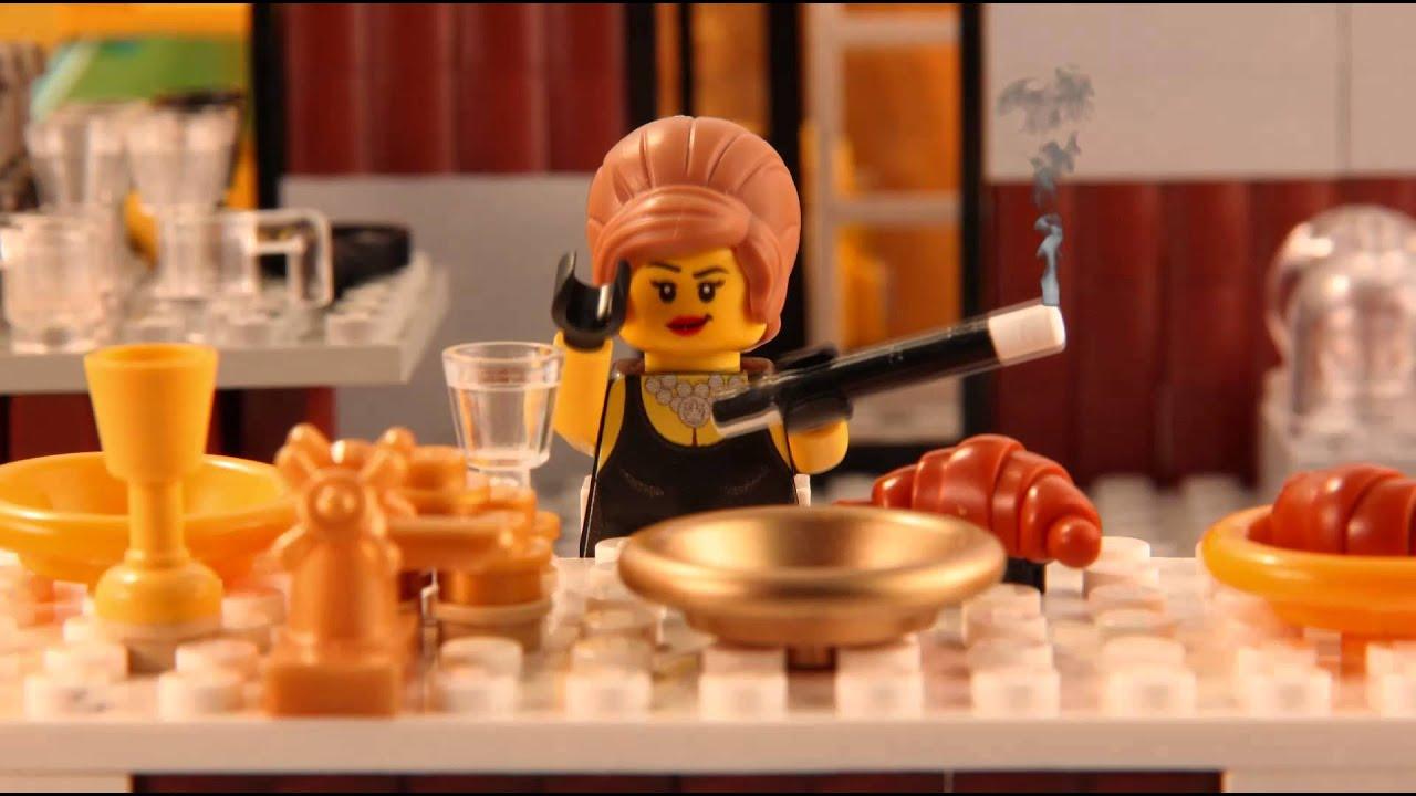 brick flicks famous film scenes in lego youtube