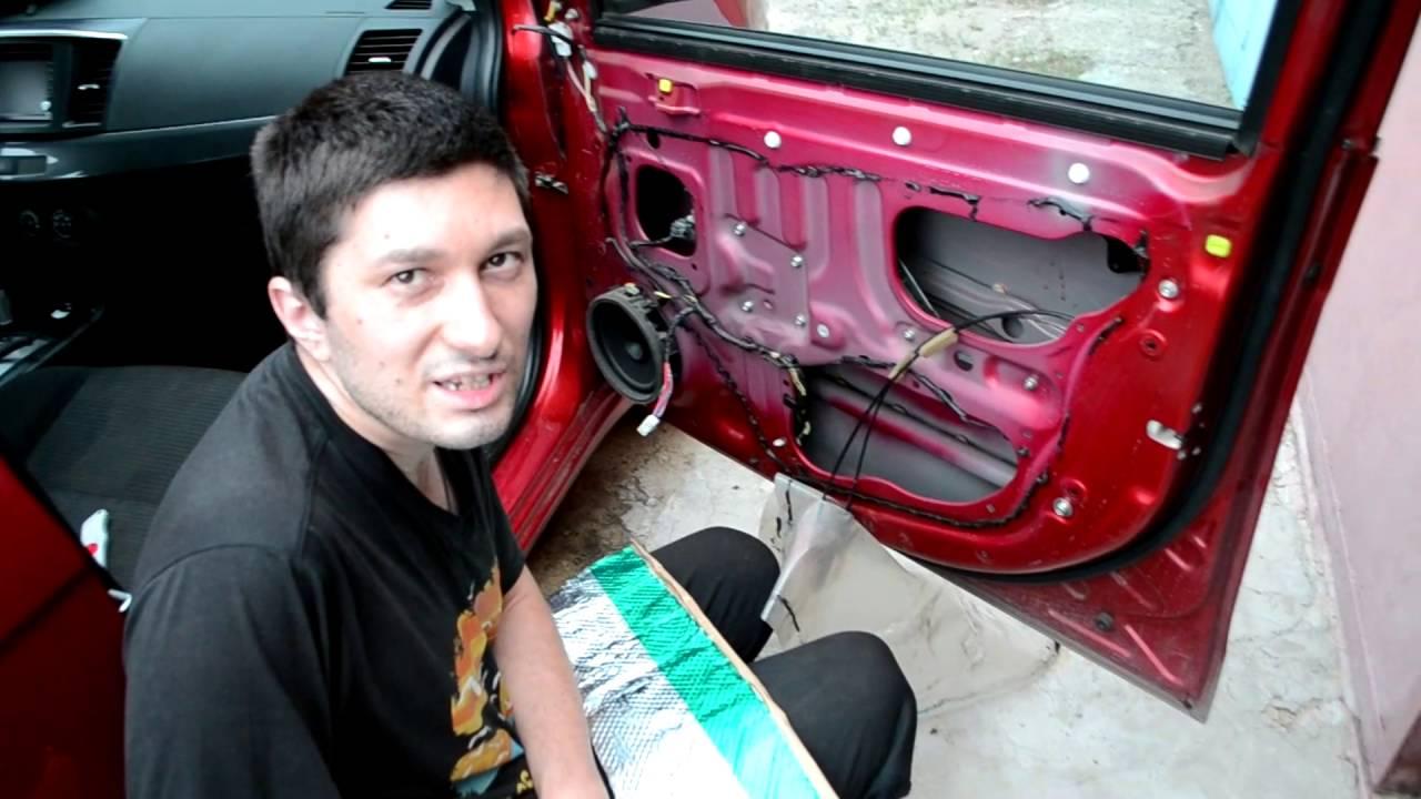 Обработка дверей автомобиля своими руками