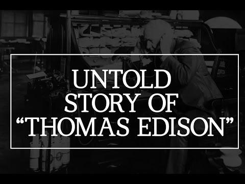 Untold Story of Thomas Edison Childhood  Inspirational Story 01