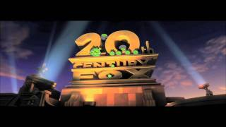 Angry Birds take over the well known 20th century fox intro. Who wi...